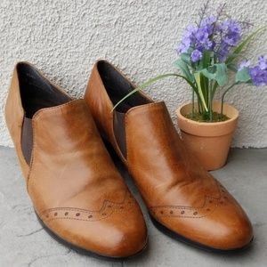 Munro Brown Leather Shoes